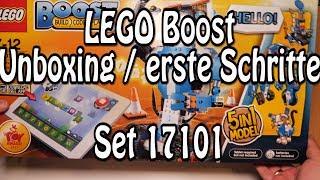 LEGO Boost: Erste Schritte und Auspacken (Set 17101 Review deutsch Programmierbares Roboticset)