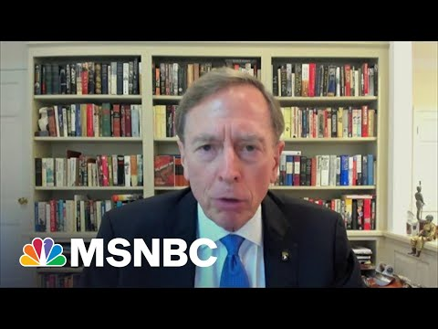 """Petraeus: 'There Were Alternatives"""" To Troop Withdrawal From Afghanistan"""