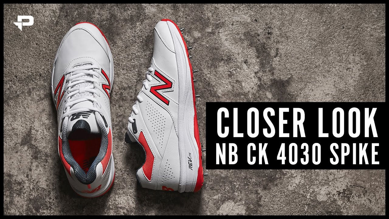 new styles various styles factory outlet New Balance CK4030 Cricket Shoes - Closer Look - YouTube
