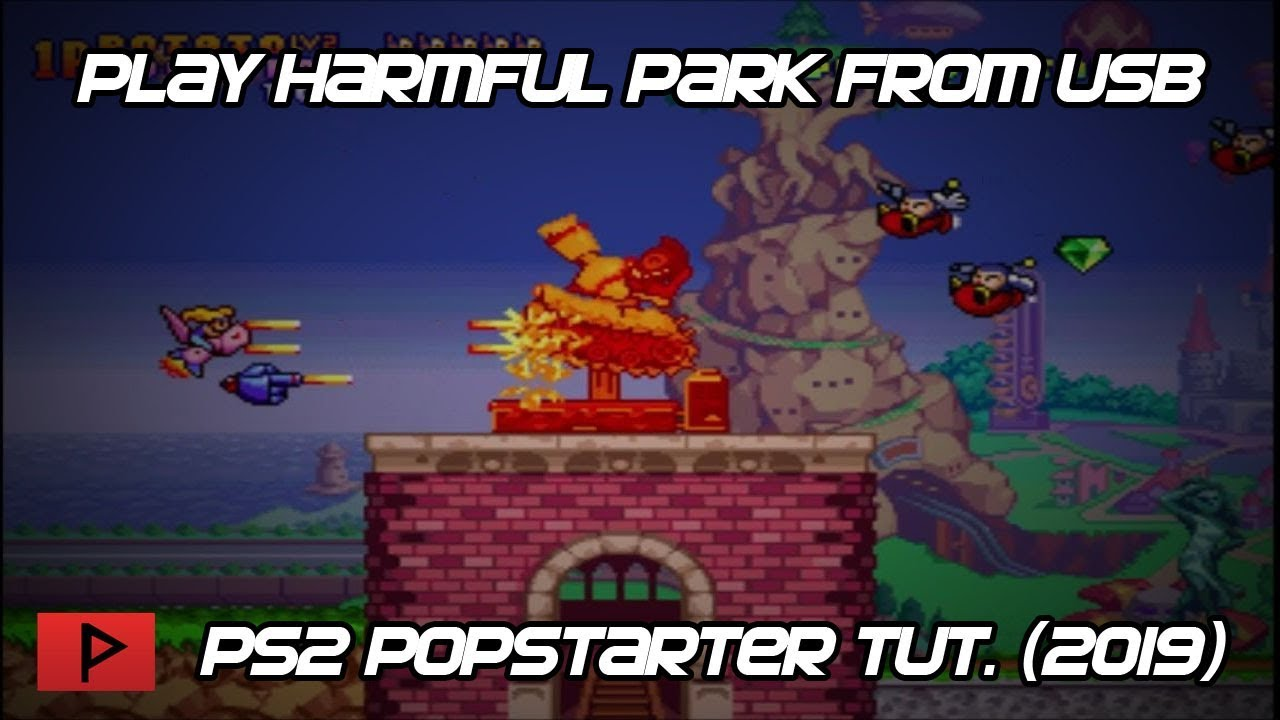 TUTORIAL] [POPSTARTER USB] Play PS1 Games From PS2 USB Using