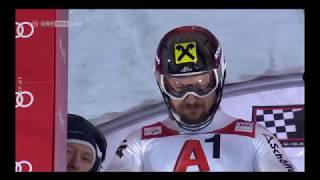 Marcel Hirscher -  Slalom Schladming 2018 2. DG
