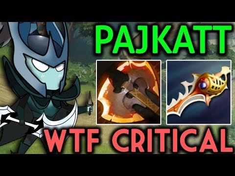 Pajkatt Dota 2 [Phantom Assassin] WTF Critical with Rapier !! thumbnail