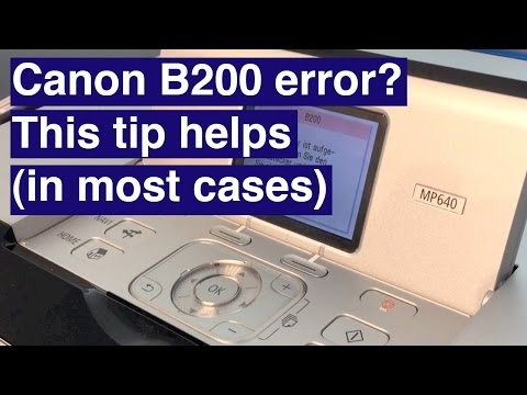 [Full Download] How To Fix Canon Pixma Support Code B200 ...