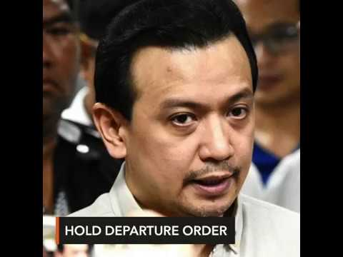 DOJ asks Davao court to keep Trillanes from leaving PH