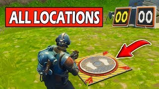 Get a Score of 3 Different Shooting Galleries! ALL LOCATIONS Fortnite Week 4 Challenge guide!
