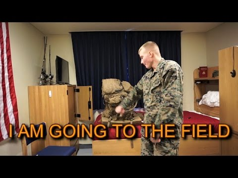 How to pack for a Marine Corps field opp!