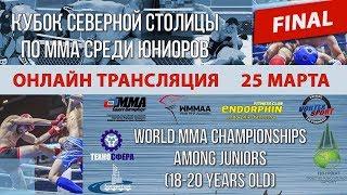 FINAL / Чемпионат мира по ММА среди юниоров / онлайн трансляция