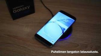 Esittelyssä Samsungin ekosysteemi, langaton lataus