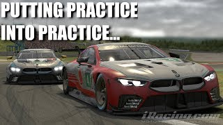 iRacing   BATTLING WITH A PRO!   IMSA GTE @ NURBURGRING   BMW M8