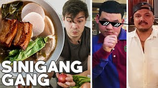Sinigang Cooked 3 Ways by 3 Filipino Cooks: Pork Belly, Beef Short Ribs, Seafood