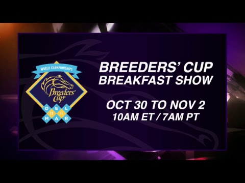 LIVE Breeders' Cup World Championships Breakfast at the Breeders' Cup
