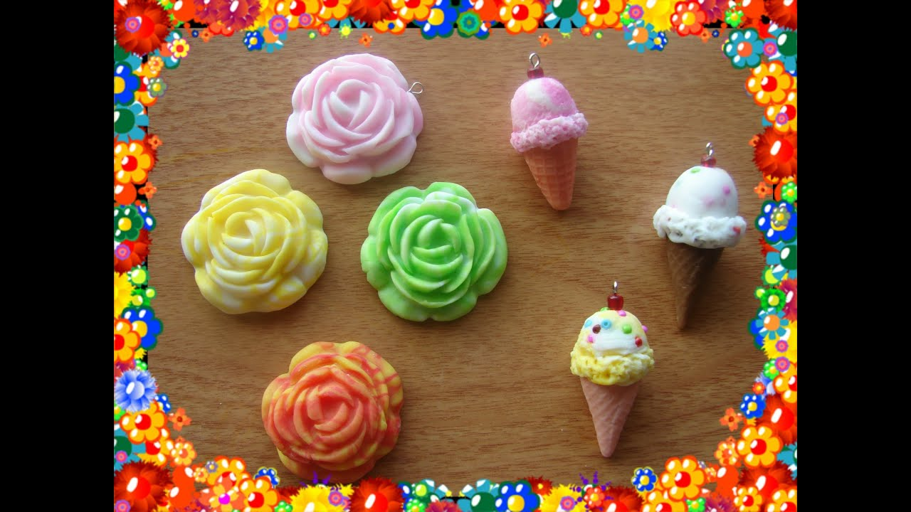 Como hacer un cono de nieve y una flor de colores youtube for Como puedo hacer un cono