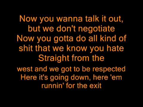 Ice Cube - Here He Come ft. Doughboy (lyrics)