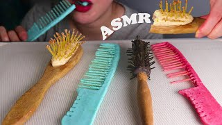 [ASMR] Edible hair brush &…