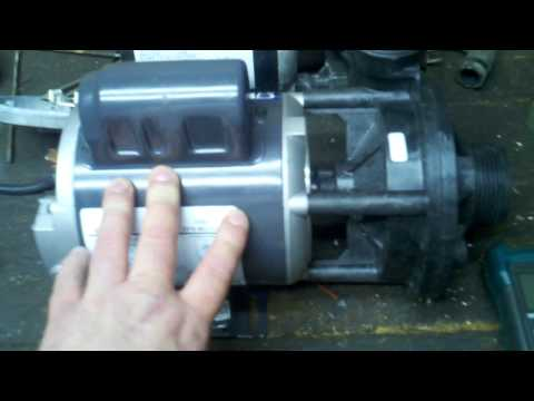 ac motor capacitor hookup