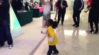 Young Customer doing Harlem Shake-Shorthills Mall NJ-With Alan Keith Entertainment Thumbnail