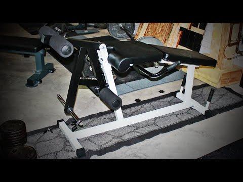 Deltech Fitness Leg Extension / Leg Curl Machine Review