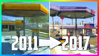 WHAT GTA 5 LOOKED LIKE IN 2011 VS NOW IN 2017 - WHAT GRAND THEFT AUTO 5 WAS LIKE BEFORE RELEASE!