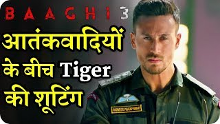 Baaghi 3 : Tiger Shroff Risky Shooting Among Terrorists in Syria
