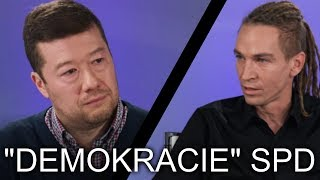 Ivan Bartoš si podal Okamuru! (krátký sestřih)