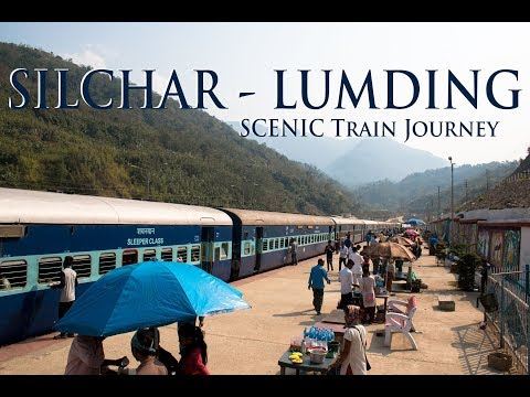 India's Most Scenic Train Journey from Silchar to Lumding | Assam