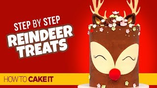 How To Make A Reindeer Sweets Table by Mickey | How To Cake It Step By Step