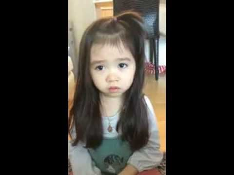 Cute littile girl with great acting talent
