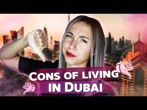 Cons of living in Dubai. Expat life in Dubai.