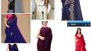 Trending ruffle sarees with prices and buying link/ ruffle sareeastarting from 600
