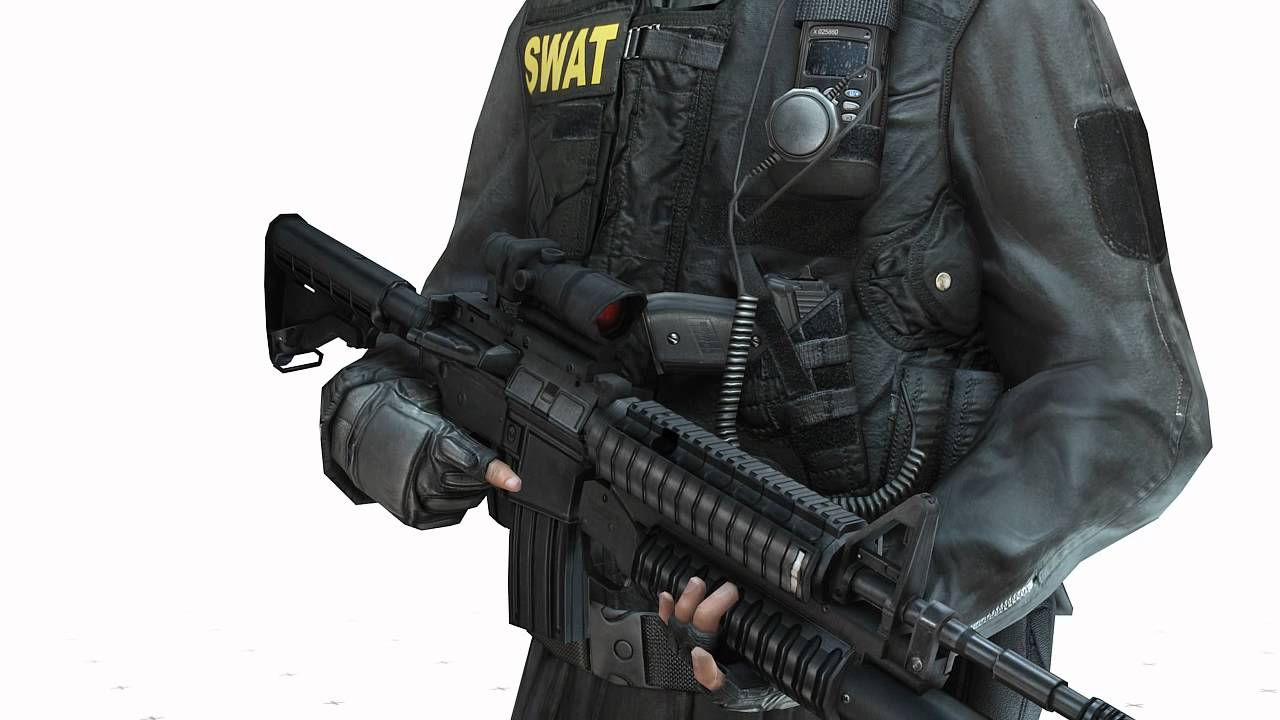 3d Wallpaper For Tv Unit Swat Tactical Unit 3d Model By Rocketbox Libraries Youtube