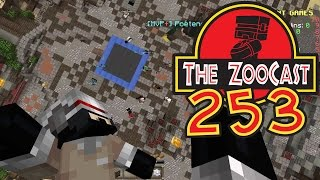Minecraft Jurassic World (Jurassic Park) ZooCast - #253 It's My Birthday! BOOM!