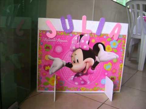 festa da minnie pink