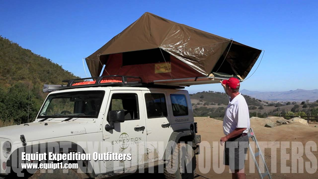 Eezi-Awn Jazz Roof Top Tent & Eezi-Awn Jazz Roof Top Tent - YouTube
