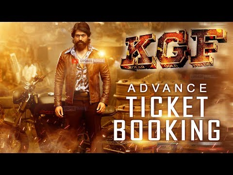 #KGF Movie Advance Ticket Booking | Yash | Prashanth Neel | Hindi | Kannada | Telugu | Tamil