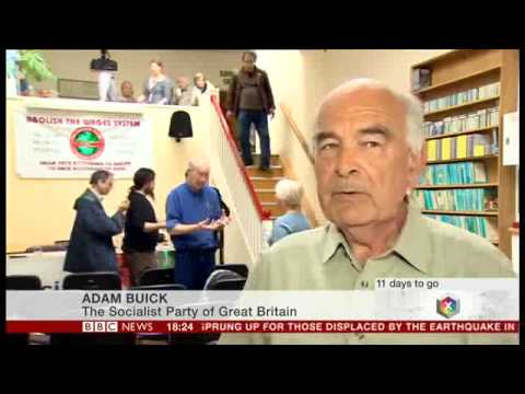 The Socialist Party on BBC News at Six (26th April 2015)