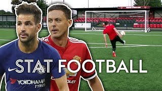 Long-Range Volley Challenge! (You NEED To Try This!) | Chelsea V Man United | Stat Football ⚽