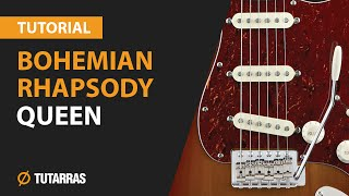 �������� ���� How to play BOHEMIAN RHAPSODY from QUEEN - Electric Guitar GUITAR LESSON ������