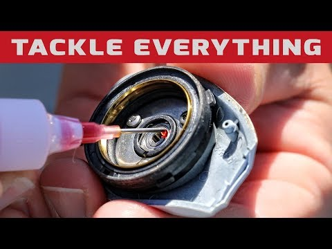 ON THE WATER REEL MAINTENANCE / CLEAN / DISASSEMBLE