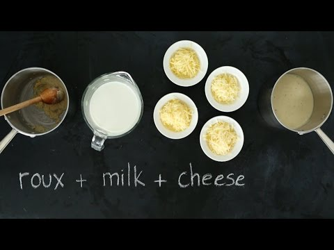 How to make homemade cheese sauce for mac and