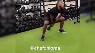 Davido and Chioma plus Dmw Boys working out at the Gym in Naija