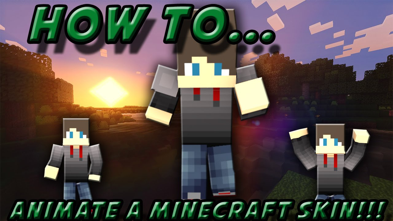 How to animate your minecraft skin in blender youtube how to animate your minecraft skin in blender ccuart Images