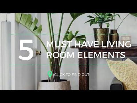 Must Have Living Room Elements | Budget Friendly | Interior Design |