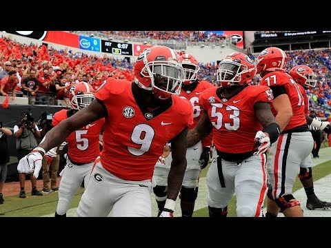 #7 Georgia Highlights Vs. #9 Florida 2018   CFB Week 9   College Football Highlights 2018