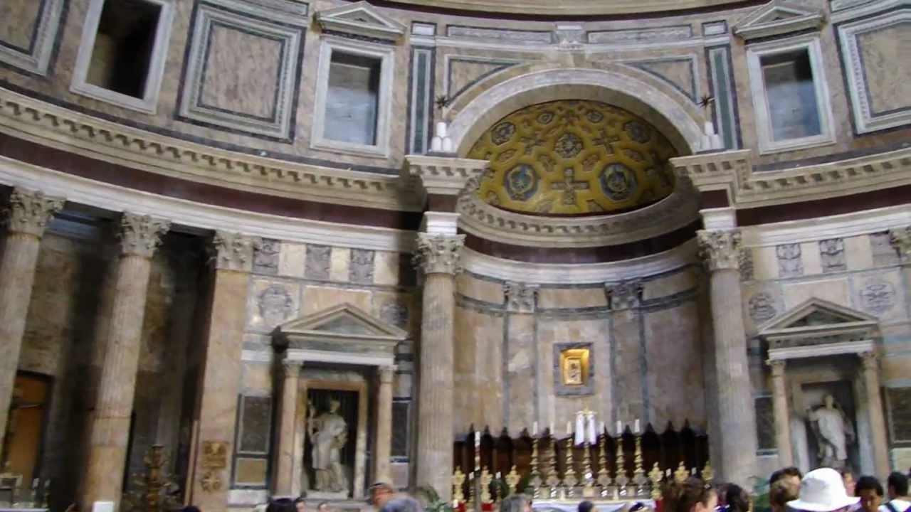 Interior do Panteão, Roma, Itália em HD :: Blog Viagem