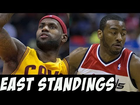 NBA 2017 - 2018 | Eastern Conference Standings Prediction (Recorded Before Gordon Hayward Injury)