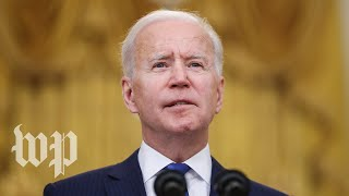 WATCH: Biden speaks on U.S. coronavirus response and vaccinations