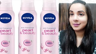 Nivea Pearl and Beauty deodorant review underarm whitening DDAILY REVIEW