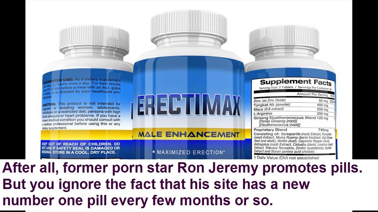 Penis enlargement pills