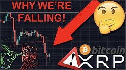 MUST WATCH: THIS IS WHY XRP/RIPPLE & BITCOIN ARE FALLING! THE MOMENT WE HAVE BEEN WAITING FOR!