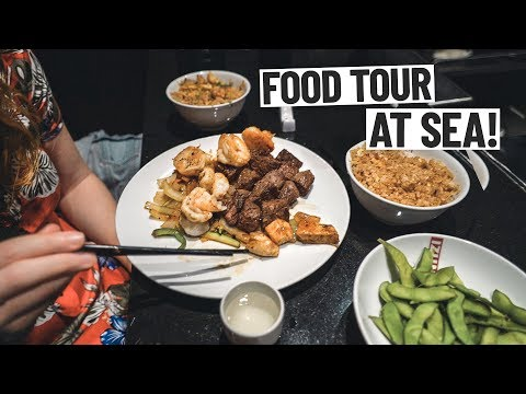 What the Food Is Like on The LARGEST CRUISE SHIP IN THE WORLD!  - Symphony of the Seas Cruise